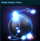 Volatile Weapon Tuning