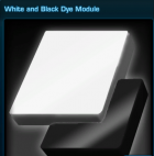 White and Black Dye Module