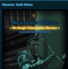 Rename: Guild Name