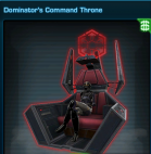 Dominator's Command Throne US